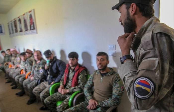 In Bezug auf die armenischen Söldner wurde an internationale Organisationen appelliert