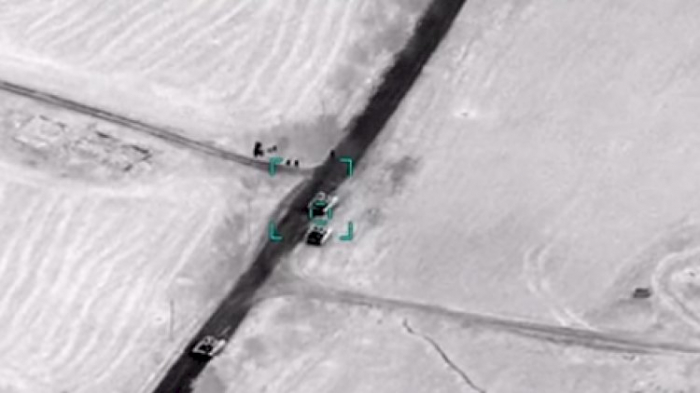 Azerbaijan Army destroys military personnel and armored vehicles of Armenia -   VIDEO