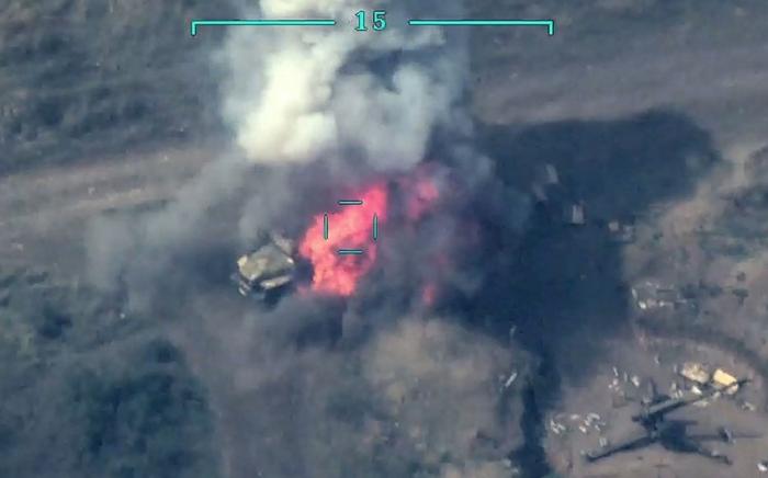 Azerbaijan destroys Armenia's artillery units, command post –  VIDEO