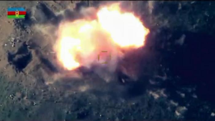 Armeniens Freiwilligengruppen, militärische Ausrüstung zerstört -   VIDEO