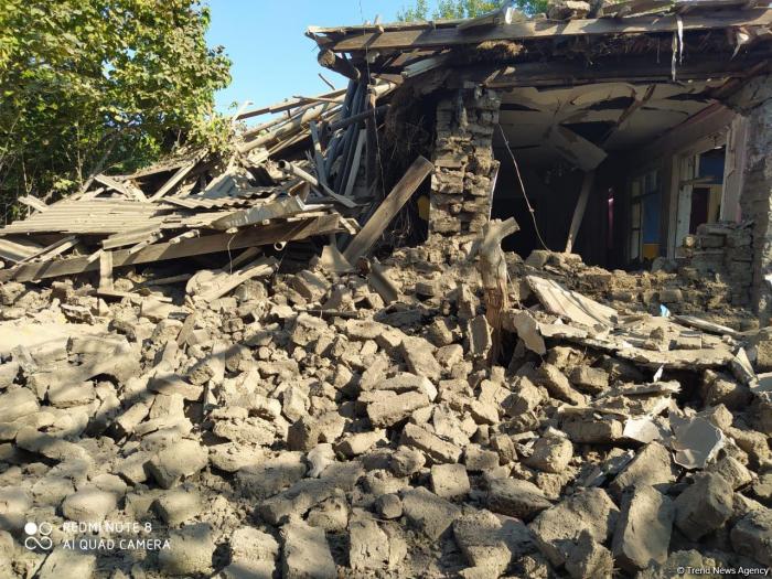 Armenian Army shells human settlements of Azerbaijan - MoD