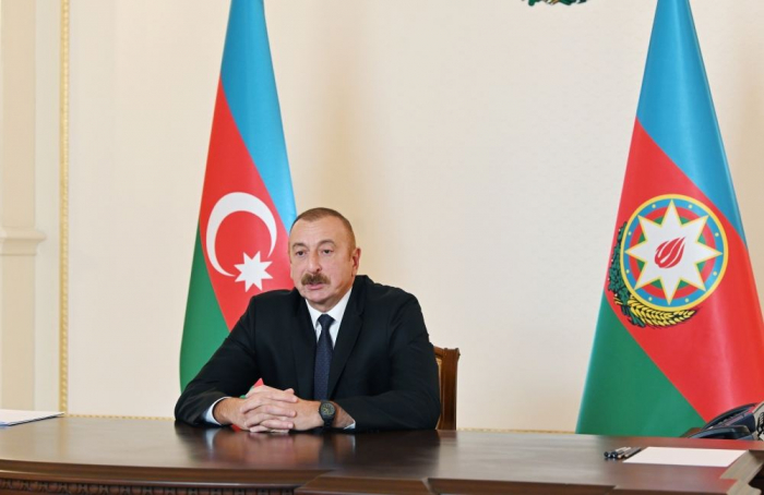 """Ilham Aliyev  :""""Iremos hasta el final para liberar todos los territorios ocupados"""""""