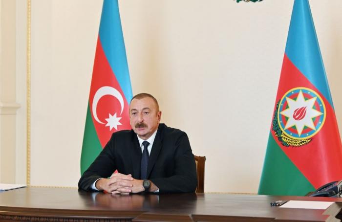 Präsident Ilham Aliyev:   Wir werden bis zum Ende alle besetzten Gebiete befreien