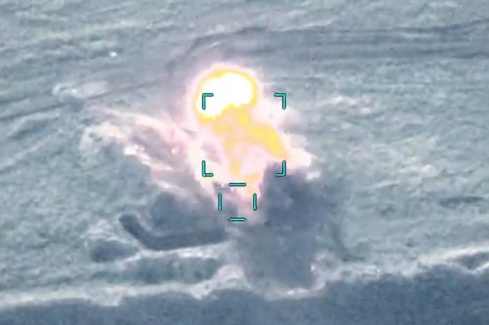 Die militärische Ausrüstung und Infrastruktur des Feindes wurden zerstört