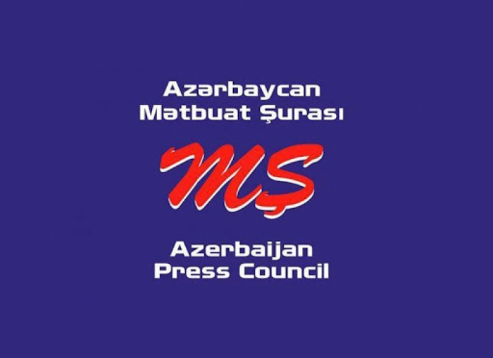 Press Council of Azerbaijan appeals to leading media outlets, international organisations