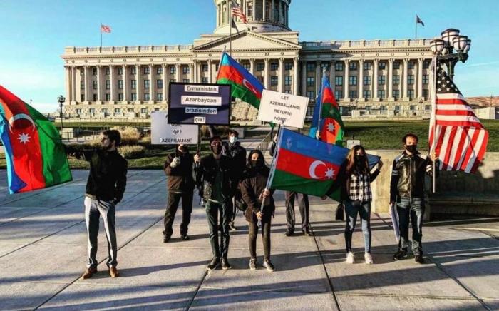 Acción en apoyo de Karabaj en los Estados Unidos