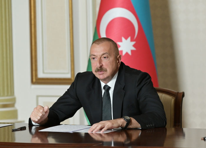 Azerbaijan is fighting alone, on its own – President Aliyev