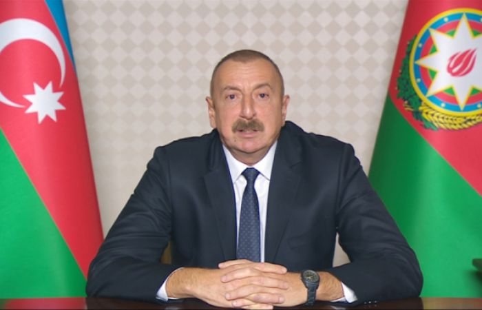 Second time, ceasefire lasted only for two minutes, Armenia violated it – Azerbaijani President