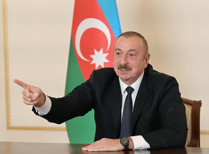"""""""Dondurulmuş vəziyyət bizdən başqa hər kəsi qane edirdi"""" -    İlham Əliyev"""
