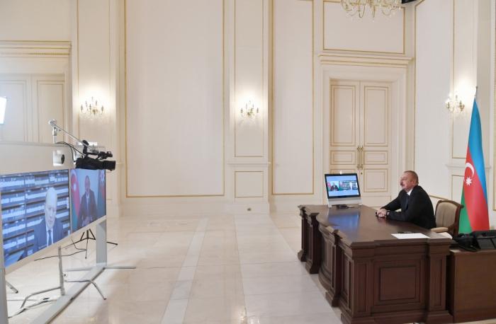 Prezident İtaliya kanalına müsahibə verdi