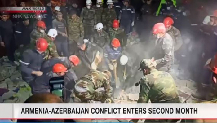Japanese TV channel broadcasted reportage about Karabakh