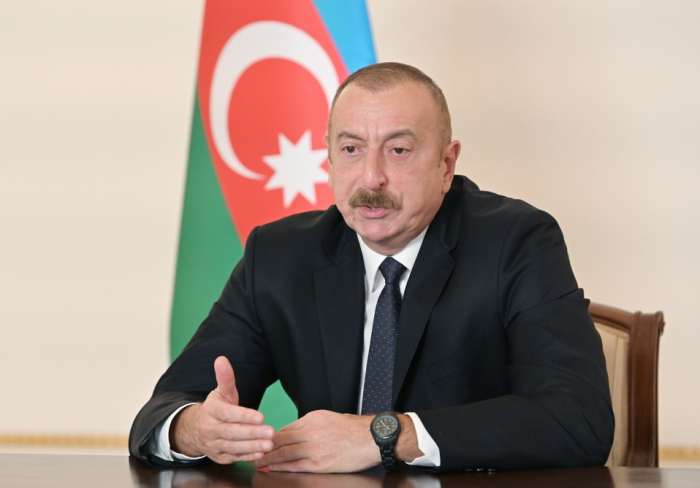 """""""İşğalçı siyasətdən imtina etsələr, barışıq mümkündür"""" -  İlham Əliyev"""