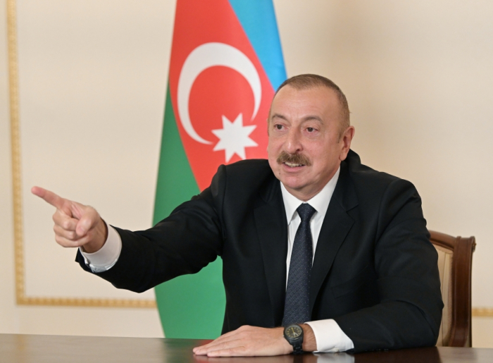 President Aliyev: We are restoring historical justice on the battlefield
