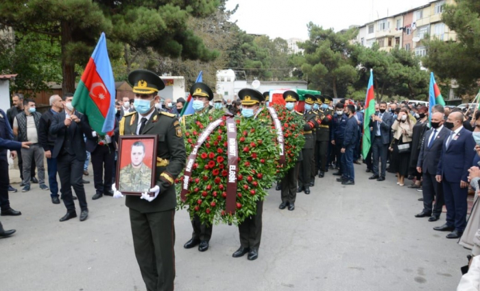 Martyred Azerbaijani soldier Dmitry Solntsev laid to rest