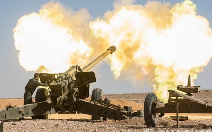 Armenia again shells Azerbaijan's Aghjabadi district