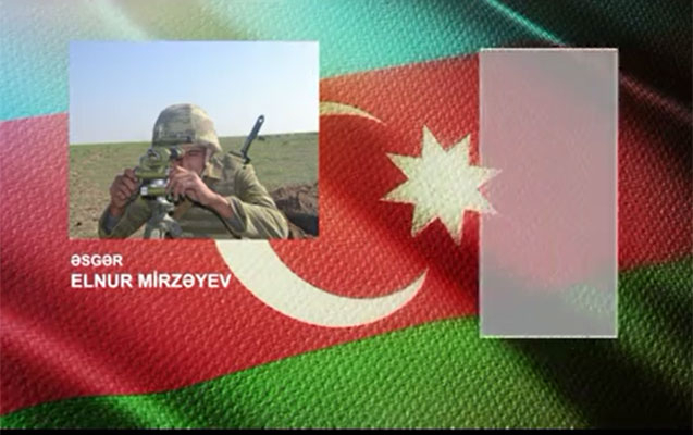 Azerbaijani soldier who destroyed Armenia's strongholds -   VIDEO