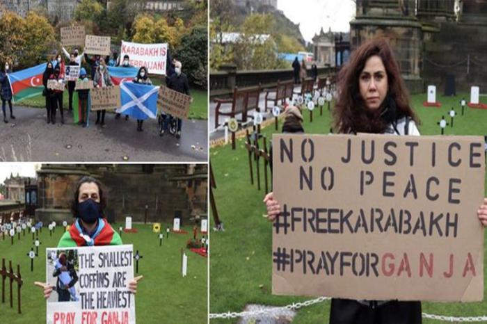 Protest rally against Ganja terror held in Edinburgh