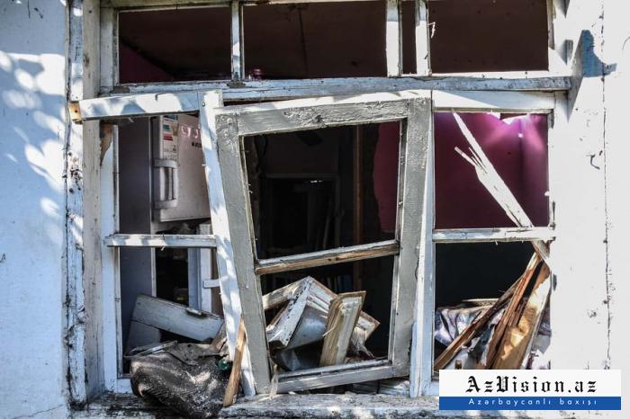 Armenia shelling Azerbaijan's Goranboy, Tartar districts