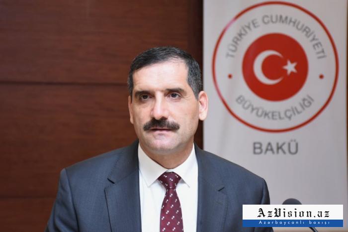 """Turkey stands by Azerbaijan in its just struggle"" - ambassador"