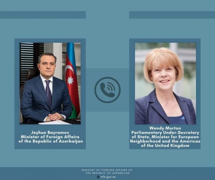 Azerbaijan informs UK about Armenia's deliberate targeting of civilians
