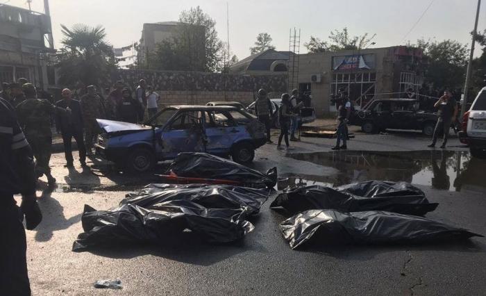 Barda terror:   5 women dead, 8 children injured
