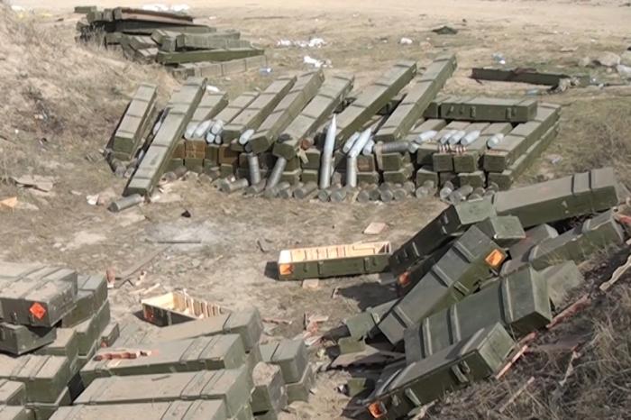 Le ministère de la Défense diffuse  une vidéo  des véhicules blindés abandonnés par l