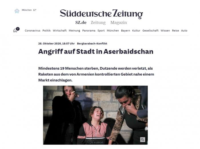 Un reportage des correspondants allemands à Berdé révèle les mensonges de la parie arménienne