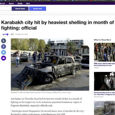 Eine weitere armenische Lüge entlarvt -   FOTO
