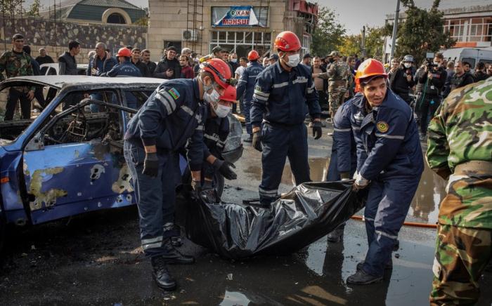 Armenian terror kills nearly 100 Azerbaijani civilians since September 27 -   STATISTICS