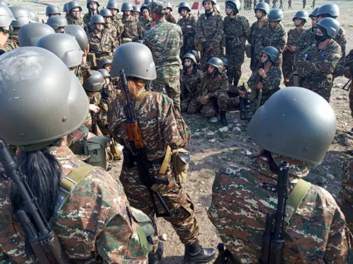 Armenian army recruiting women -  PHOTO
