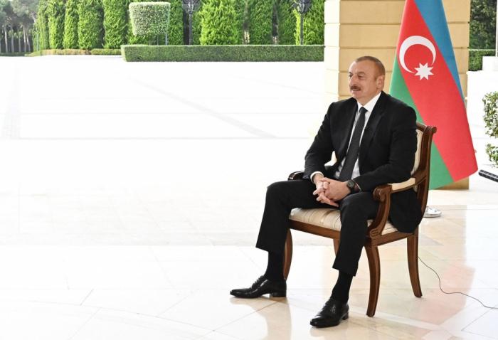 """""""Müharibənin nə qədər davam edəcəyi Ermənistandan asılıdır"""" -  İlham Əliyev"""