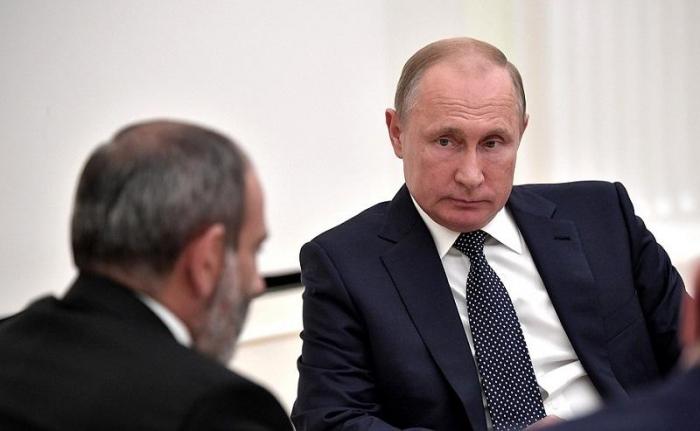 Nikol Pashinyan a envoyé une lettre au président russe pour lui demander son aide