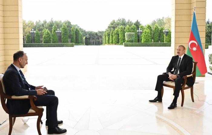 Ilham Aliyev a accordé une interview à la chaîne de télévision allemande ARD - VIDEO