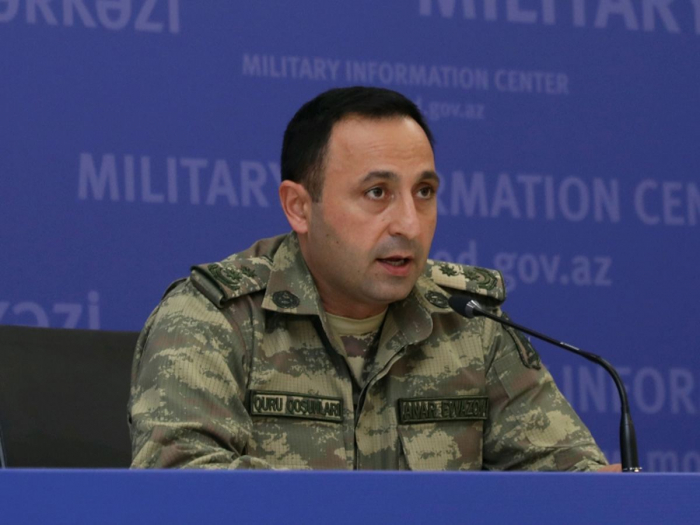 Azerbaijani army continues counter-offensive operation – Defense Ministry
