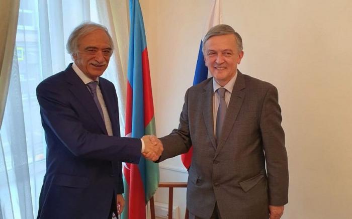 Azerbaijani ambassador discusses situation in Nagorno-Karabakh with Montenegrin counterpart