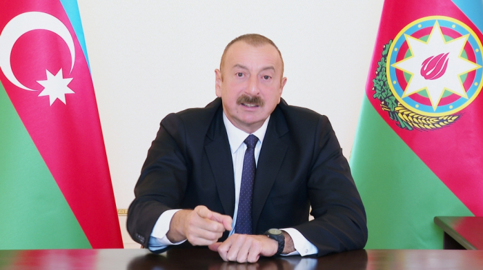 President Ilham Aliyev: Where do so many weapons and hardware come from to poor Armenia?
