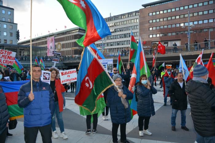 Armenian terror condemned in Sweden