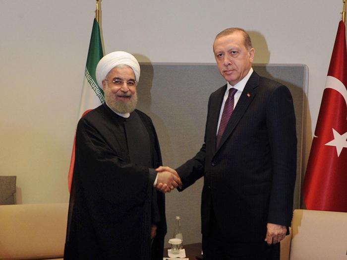 أردوغان وروحاني ناقش كاراباخ