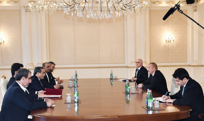 President Ilham Aliyev receives Iranian president's special envoy - UPDATED