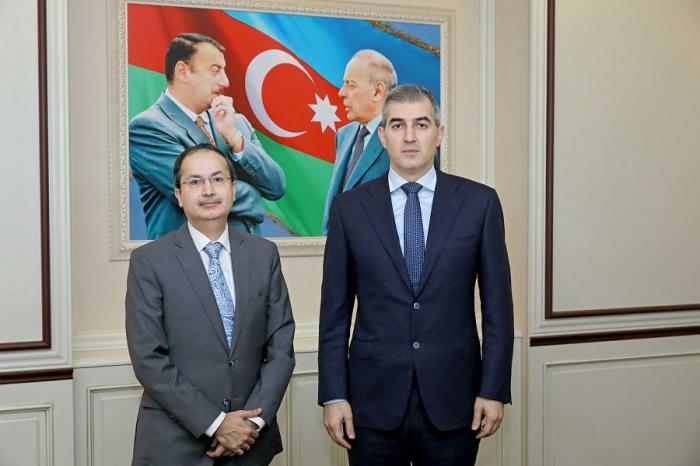 Vusal Huseynov met with Pakistani Ambassador to Azerbaijan