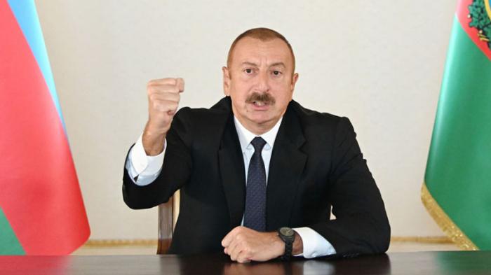 """""""سنطرد العدو من أراضينا حتى النهاية"""" -   القائد الأعلى للقوات المسلحة"""