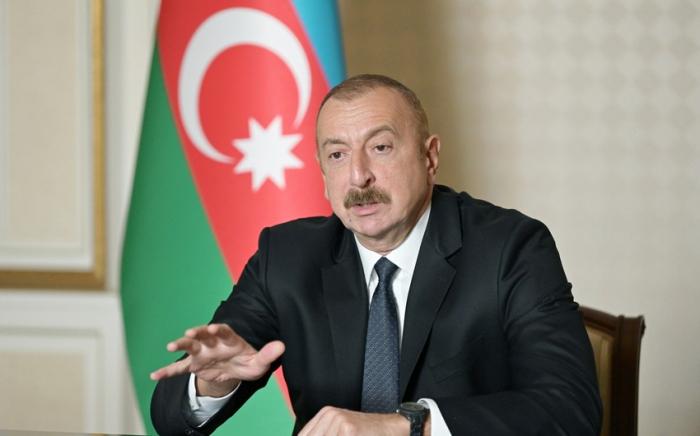 Ilham Aliyev:  «Le Karabagh est une question de fierté nationale»