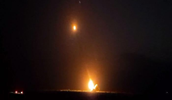 Düşmənə gecə ərzində artilleriya zərbələri endirilib -  VİDEO