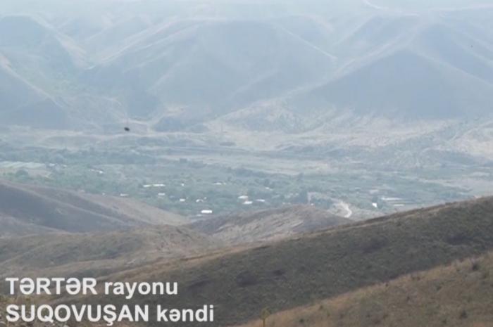İşğaldan azad olunan Suqovuşan kəndi -    VİDEO