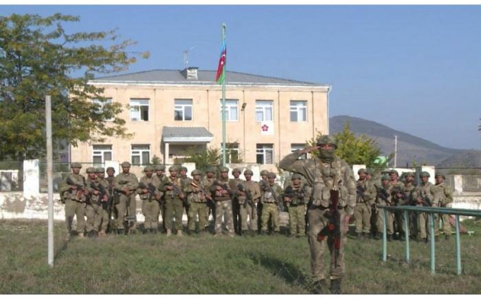 La bandera azerbaiyana izada en Zangilan-  VIDEO