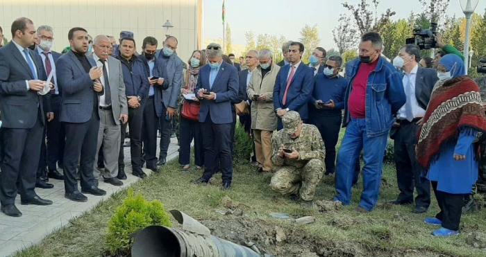 Xarici diplomatlar erməni cinayətlərini öz gözləri ilə gördülər
