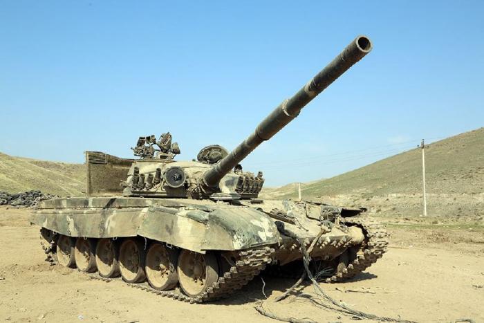 المعدات العسكرية التي تركها الأرمن في ساحة المعركة -   فيديو + صور