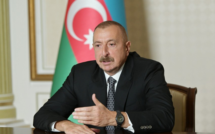 """The rocket attack was carried out from the Vardenis region of Armenia"" - President Aliyev"