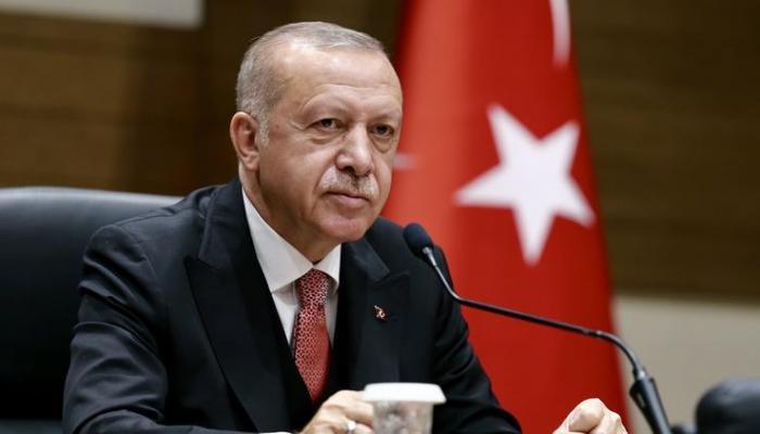 """أردوغان   """"بدأ إخواننا في استعادة أراضيهم"""""""