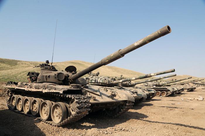 Armenianmilitary equipments seized -  VIDEO